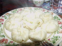 Steamed and Fried Chicken Momos
